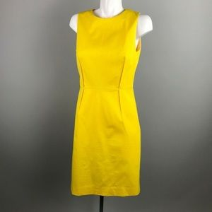 J Crew Sleeveless Bi Stretch Sheath Dress 8